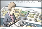 Cartoonist Clay Bennett  Clay Bennett's Editorial Cartoons 2008-02-20 food additive