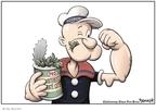 Cartoonist Clay Bennett  Clay Bennett's Editorial Cartoons 2008-03-01 stimulus