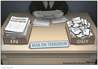 Cartoonist Clay Bennett  Clay Bennett's Editorial Cartoons 2008-03-19 against
