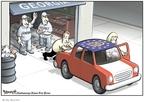 Cartoonist Clay Bennett  Clay Bennett's Editorial Cartoons 2008-04-09 Georgia