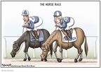 Cartoonist Clay Bennett  Clay Bennett's Editorial Cartoons 2008-05-03 2008 primary