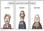 Cartoonist Clay Bennett  Clay Bennett's Editorial Cartoons 2008-05-24 denial