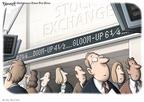 Cartoonist Clay Bennett  Clay Bennett's Editorial Cartoons 2008-06-07 economics
