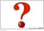 Cartoonist Clay Bennett  Clay Bennett's Editorial Cartoons 2008-06-11 question