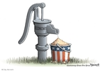 Cartoonist Clay Bennett  Clay Bennett's Editorial Cartoons 2008-06-12 dry