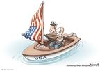 Cartoonist Clay Bennett  Clay Bennett's Editorial Cartoons 2008-07-24 stimulus