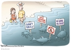 Cartoonist Clay Bennett  Clay Bennett's Editorial Cartoons 2008-08-07 rig
