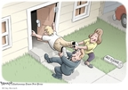 Cartoonist Clay Bennett  Clay Bennett's Editorial Cartoons 2008-08-12 summer
