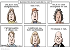 Cartoonist Clay Bennett  Clay Bennett's Editorial Cartoons 2008-08-23 question