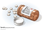 Cartoonist Clay Bennett  Clay Bennett's Editorial Cartoons 2008-09-07 medication