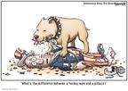 Cartoonist Clay Bennett  Clay Bennett's Editorial Cartoons 2008-09-09 Alaska