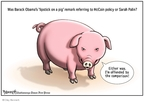 Cartoonist Clay Bennett  Clay Bennett's Editorial Cartoons 2008-09-14 John McCain