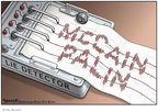 Cartoonist Clay Bennett  Clay Bennett's Editorial Cartoons 2008-09-19 John McCain