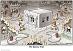 Cartoonist Clay Bennett  Clay Bennett's Editorial Cartoons 2008-09-24 rescue