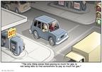 Cartoonist Clay Bennett  Clay Bennett's Editorial Cartoons 2008-10-04 than