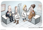 Cartoonist Clay Bennett  Clay Bennett's Editorial Cartoons 2008-10-05 John McCain