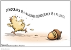 Cartoonist Clay Bennett  Clay Bennett's Editorial Cartoons 2008-10-18 election fraud