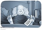 Cartoonist Clay Bennett  Clay Bennett's Editorial Cartoons 2008-10-22 John McCain