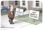 Cartoonist Clay Bennett  Clay Bennett's Editorial Cartoons 2008-10-26 John McCain