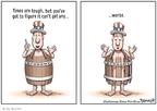 Cartoonist Clay Bennett  Clay Bennett's Editorial Cartoons 2008-10-25 loss