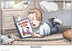 Cartoonist Clay Bennett  Clay Bennett's Editorial Cartoons 2008-10-30 John McCain