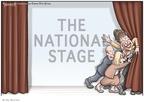 Cartoonist Clay Bennett  Clay Bennett's Editorial Cartoons 2008-11-13 loss