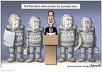 Cartoonist Clay Bennett  Clay Bennett's Editorial Cartoons 2008-11-25 his