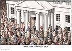 Cartoonist Clay Bennett  Clay Bennett's Editorial Cartoons 2008-12-03 1600 Pennsylvania Avenue