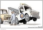 Cartoonist Clay Bennett  Clay Bennett's Editorial Cartoons 2008-12-14 economics