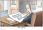 Cartoonist Clay Bennett  Clay Bennett's Editorial Cartoons 2009-01-04 bipartisan