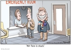 Cartoonist Clay Bennett  Clay Bennett's Editorial Cartoons 2009-01-21 inauguration