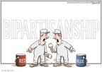 Cartoonist Clay Bennett  Clay Bennett's Editorial Cartoons 2009-01-29 bipartisan