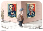 Cartoonist Clay Bennett  Clay Bennett's Editorial Cartoons 2009-02-08 bipartisan