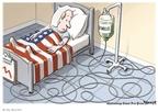 Cartoonist Clay Bennett  Clay Bennett's Editorial Cartoons 2009-02-12 stimulus