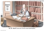 Cartoonist Clay Bennett  Clay Bennett's Editorial Cartoons 2009-02-14 scandal