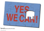 Cartoonist Clay Bennett  Clay Bennett's Editorial Cartoons 2009-02-25 miss