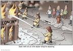 Cartoonist Clay Bennett  Clay Bennett's Editorial Cartoons 2009-03-12 stimulus
