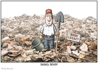 Cartoonist Clay Bennett  Clay Bennett's Editorial Cartoons 2009-03-22 stimulus