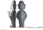 Cartoonist Clay Bennett  Clay Bennett's Editorial Cartoons 2009-04-26 scandal