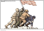 Cartoonist Clay Bennett  Clay Bennett's Editorial Cartoons 2009-05-25 Vietnam War