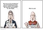 Cartoonist Clay Bennett  Clay Bennett's Editorial Cartoons 2009-06-14 rescue