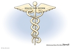 Cartoonist Clay Bennett  Clay Bennett's Editorial Cartoons 2009-06-21 bipartisan