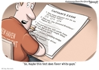 Cartoonist Clay Bennett  Clay Bennett's Editorial Cartoons 2009-07-19 question