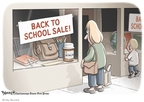 Cartoonist Clay Bennett  Clay Bennett's Editorial Cartoons 2009-08-05 substance