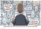 Cartoonist Clay Bennett  Clay Bennett's Editorial Cartoons 2009-08-09 his