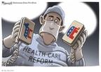 Cartoonist Clay Bennett  Clay Bennett's Editorial Cartoons 2009-09-24 bipartisanship