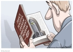 Cartoonist Clay Bennett  Clay Bennett's Editorial Cartoons 2009-09-29 nuclear weapon