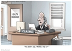 Cartoonist Clay Bennett  Clay Bennett's Editorial Cartoons 2009-10-01 deny