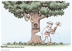 Cartoonist Clay Bennett  Clay Bennett's Editorial Cartoons 2009-10-08 animal control