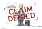Cartoonist Clay Bennett  Clay Bennett's Editorial Cartoons 2009-10-14 deny